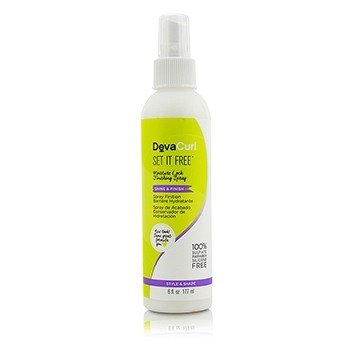 DevaCurl Set It Free (Moisture Lock Finishing Spray - Shine & Finish)  177ml/6oz