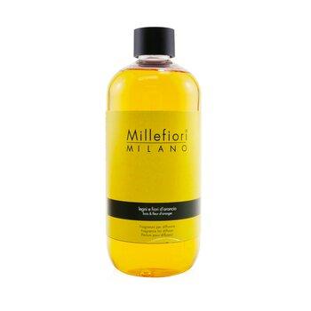 Millefiori Natural Fragrance Diffuser Refill - Legni E Fiori D'Arancio  500ml/16.9oz