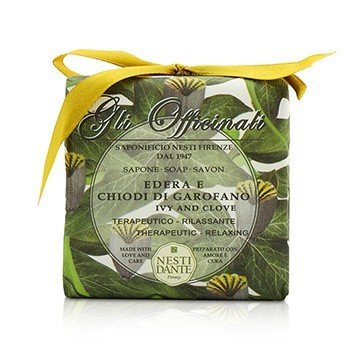 Nesti Dante Gli Officinali Soap - Ivy & Clove - Therapeutic & Relaxing  200g/7oz