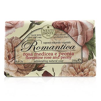 Nesti Dante Romantica Exhilarating Natural Soap - Florentine Rose & Peony  250g/8.8oz