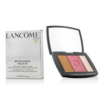 Lancome Blush Subtil Palette (3x Colours Powder Blusher) - # 341 Petal Pushing (US Verison)  4.5g/0.158oz