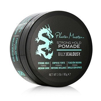 Billy Jealousy Plaster Master Strong Hold Pomade (Medium Shine)  85g/3oz