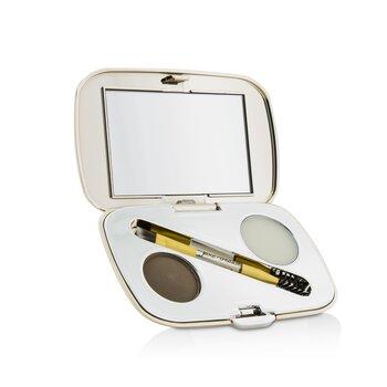 Jane Iredale GreatShape Eyebrow Kit (1x Brow Powder, 1x Brow Wax, 1x Applicator) - Brunette  2.5g/0.085oz