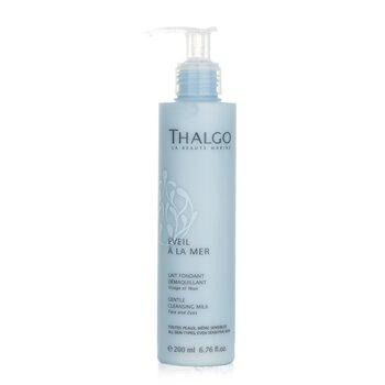 Thalgo Eveil A La Mer Gentle Cleansing Milk (Face & Eyes) - For All Skin Types, Even Sensitive Skin  200ml/6.76oz