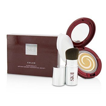 SK II Color Clear Beauty Artisan Brush Foundation SPF 30 With Brush (Moist) - #450  2pcs