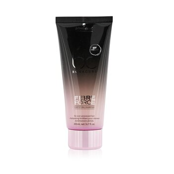 Schwarzkopf BC Fibre Force Fortifying Shampoo (For Over-Processed Hair)  200ml/6.8oz