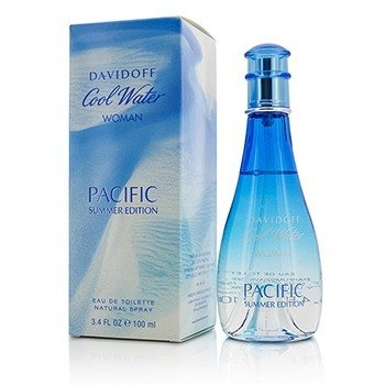 Davidoff Cool Water Pacific Summer Edition Eau De Toilette Spray  100ml/3.4oz