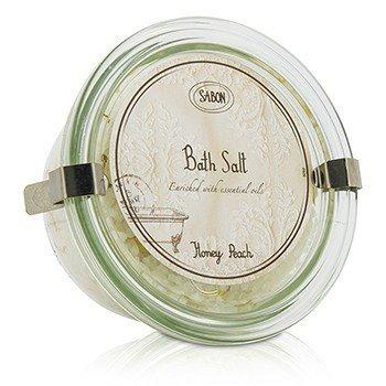 Sabon Bath Salt - Honey Peach  250g/8.5oz