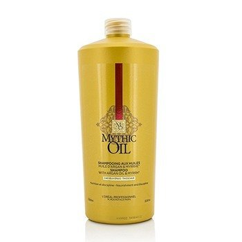 L'Oreal Professionnel Mythic Oil Shampoo with Argan Oil & Myrrh (Thick Hair)  1000ml/33.8oz