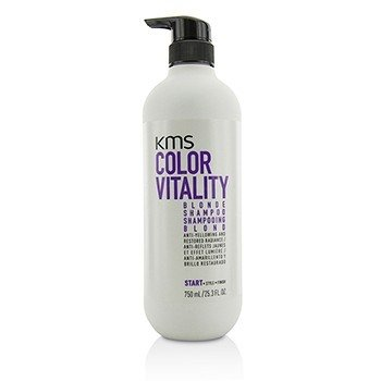 KMS California Color Vitality Blonde Shampoo (Anti-Yellowing and Restored Radiance)  750ml/25.3oz