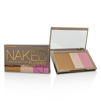 Urban Decay Naked Flushed - Going Native (1x Blush, 1x Bronzer, 1x Highlighter)  14g/0.49oz