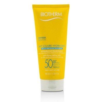 Biotherm Lait Solaire Hydratant Anti-Drying Melting Milk SPF 50 - For Face & Body  200ml/6.76oz