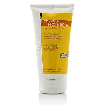 J. F. Lazartigue Vita Cream After Shampoo with Shea Butter - For Dry, Thick & Normal Hair (Unboxed)  150ml/5.1oz