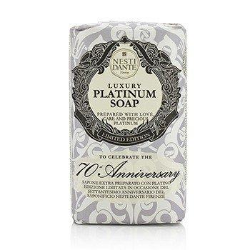 Nesti Dante 7070 Anniversary Luxury Platinum Soap With Precious Platinum (Limited Edition)  250g/8.8oz