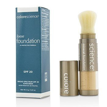 Colorescience Loose Mineral Foundation Brush SPF20 - Medium Bisque  6g/0.21oz
