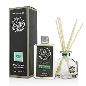 The Candle Company Reed Diffuser with Essential Oils - Green Seas  100ml/3.38oz