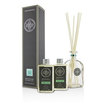 The Candle Company Reed Diffuser with Essential Oils - Green Seas  200ml/6.76oz