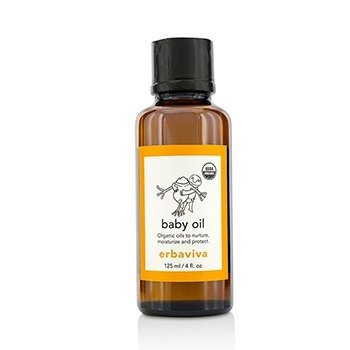 Erbaviva Baby Oil  125ml/4oz