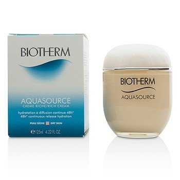 Biotherm Aquasource 48H Continuous Release Hydration Rich Cream (Dry Skin)  125ml/4.22oz