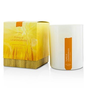 Thymes Aromatic Candle - Tupelo Lemongrass  9oz