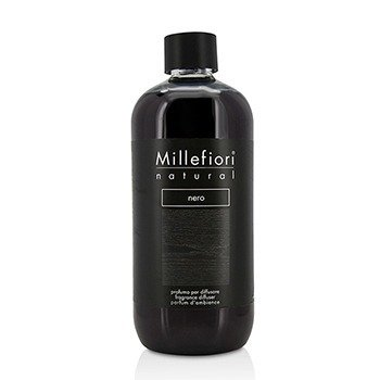 Millefiori Natural Fragrance Diffuser Refill - Nero  500ml/16.9oz