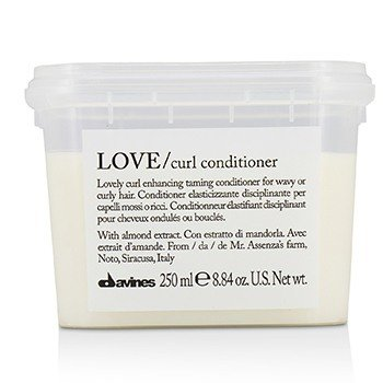 Davines Love Lovely Curl Enchancing Taming Conditioner (For Wavy or Curly Hair)  250ml/8.84oz
