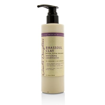 Carol's Daughter Rhassoul Clay Active Living Haircare Enriching Conditioner (For Overworked & Over-washed Hair)  355ml/12oz