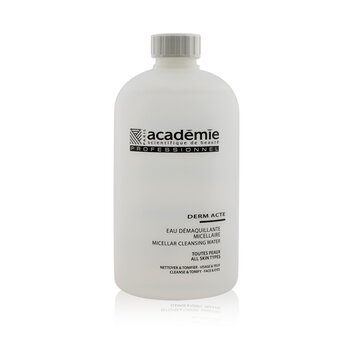 Academie Derm Acte Micellar Cleansing Water - Salon Size  500ml/16.9oz