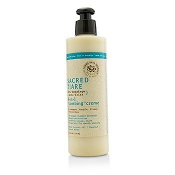 "Carol's Daughter Sacred Tiare Anti-Breakage & Anti-Frizz 4-in-1 ""Combing"" Creme (For Damaged, Fragile, Frizzy & Unruly Hair)  236ml/8oz"