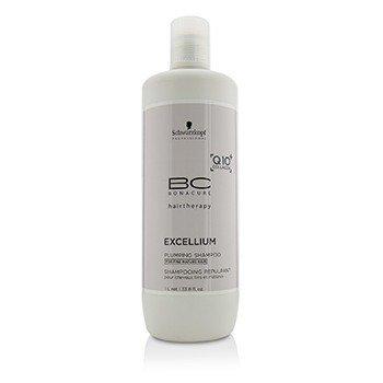 Schwarzkopf BC Excellium Q10+ Collagen Plumping Shampoo (For Fine Mature Hair)  1000ml/33.8oz
