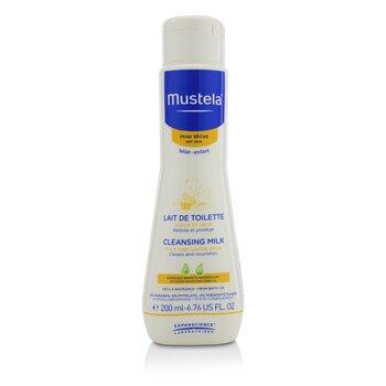Mustela Cleansing Milk -  For Dry Skin  200ml/6.76oz