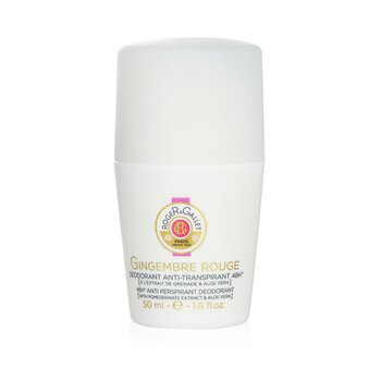 Roger & Gallet Gingembre Rouge 48H Anti Perspirant Deodorant Roll On  50ml/1.6oz