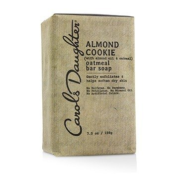 Carol's Daughter Almond Cookie Oatmeal Bar Soap  198g/7oz