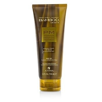 Alterna Bamboo Smooth Anti-Frizz PM Overnight Smoothing Treatment  150ml/5oz