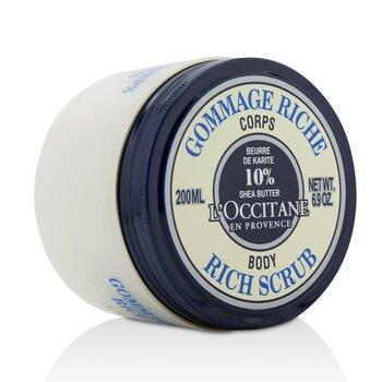 L'Occitane Shea Butter Rich Body Scrub  200ml/6.9oz