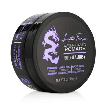 Billy Jealousy Lunatic Fringe Water-Based Pomade (Strong Hold - High Shine)  85g/3oz