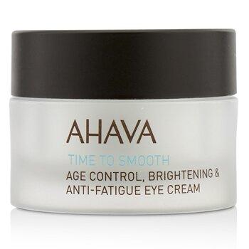 Ahava Time To Smooth Age Control Brightening & Anti-Fatigue Eye Cream  15ml/0.51oz