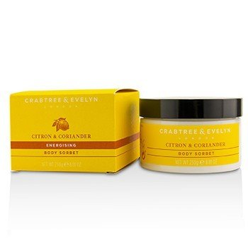 Crabtree & Evelyn Citron & Coriander Energising Body Sorbet  250g/8.81oz