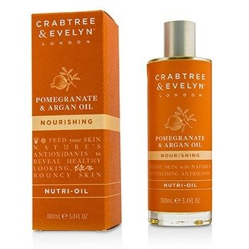 Crabtree & Evelyn Pomegranate & Argan Oil Nourishing Nutri-Oil  100ml/3.4oz