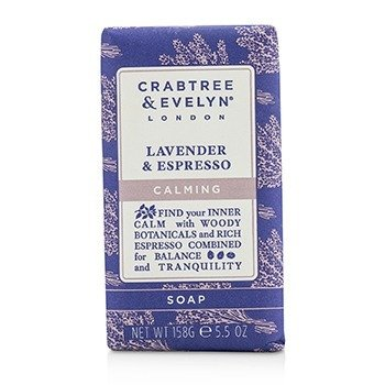 Crabtree & Evelyn Lavender & Espresso Calming Soap  158g/5.5oz