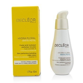 Decleor Hydra Floral White Petal Roman Chamomile Skin Perfecting Hydrating Milky Lotion  50ml/1.7oz