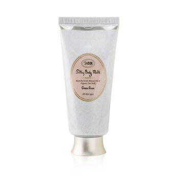 Sabon Silky Body Milk - Green Rose  200ml/7oz