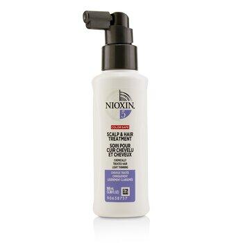 Nioxin Diameter System 5 Scalp & Hair Treatment (Chemically Treated Hair, Light Thinning, Color Safe)  100ml/3.38oz