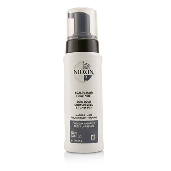 Nioxin Diameter System 2 Scalp & Hair Treatment (Natural Hair, Progressed Thinning)  200ml/6.76oz
