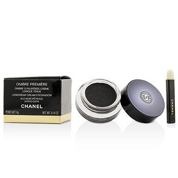 Chanel Ombre Premiere Longwear Cream Eyeshadow - # 812 Noir Petrole (Satin)  4g/0.14oz