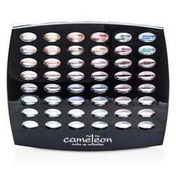 Cameleon MakeUp Kit G1665 : 48xEyeshadow, 4xBlush, 6xLipgloss, 4xBrush  -