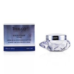 Thalgo Exception Ultime Ultimate Time Solution Rich Cream  50ml/1.69oz