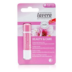 Lavera Lip Balm - Beauty & Care Rose  4.5g/0.15oz