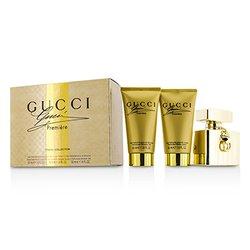 Gucci Premiere Coffret: Eau De Parfum Spray 50ml/1.6oz + Body Lotion 50ml/1.6oz + Shower Gel 50ml/1.6oz  3pcs