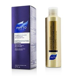 Phyto Phytokeratine Extreme Exceptional Shampoo (Ultra-Damaged, Brittle & Dry Hair)  200ml/6.7oz
